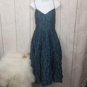 NWT Tracy Reese Flower Spaghetti string dress 10